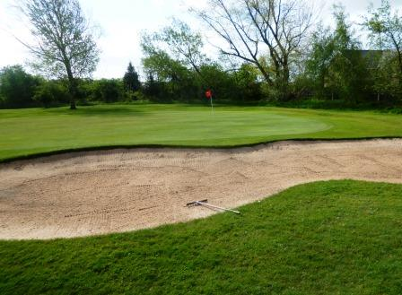 The 4th/13th green