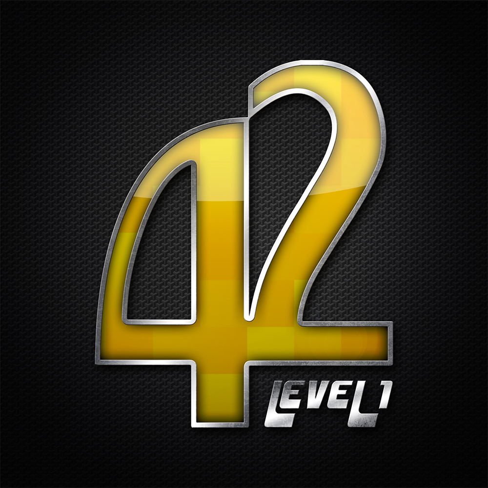 Logo Design for Popular gaming Podcast, 42 Level one from Allgames.com