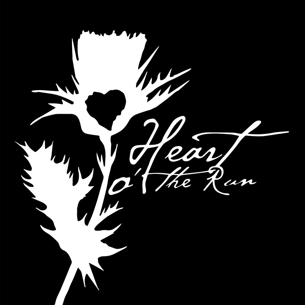Logo design for Glasgow based music band: Heart O'The Run