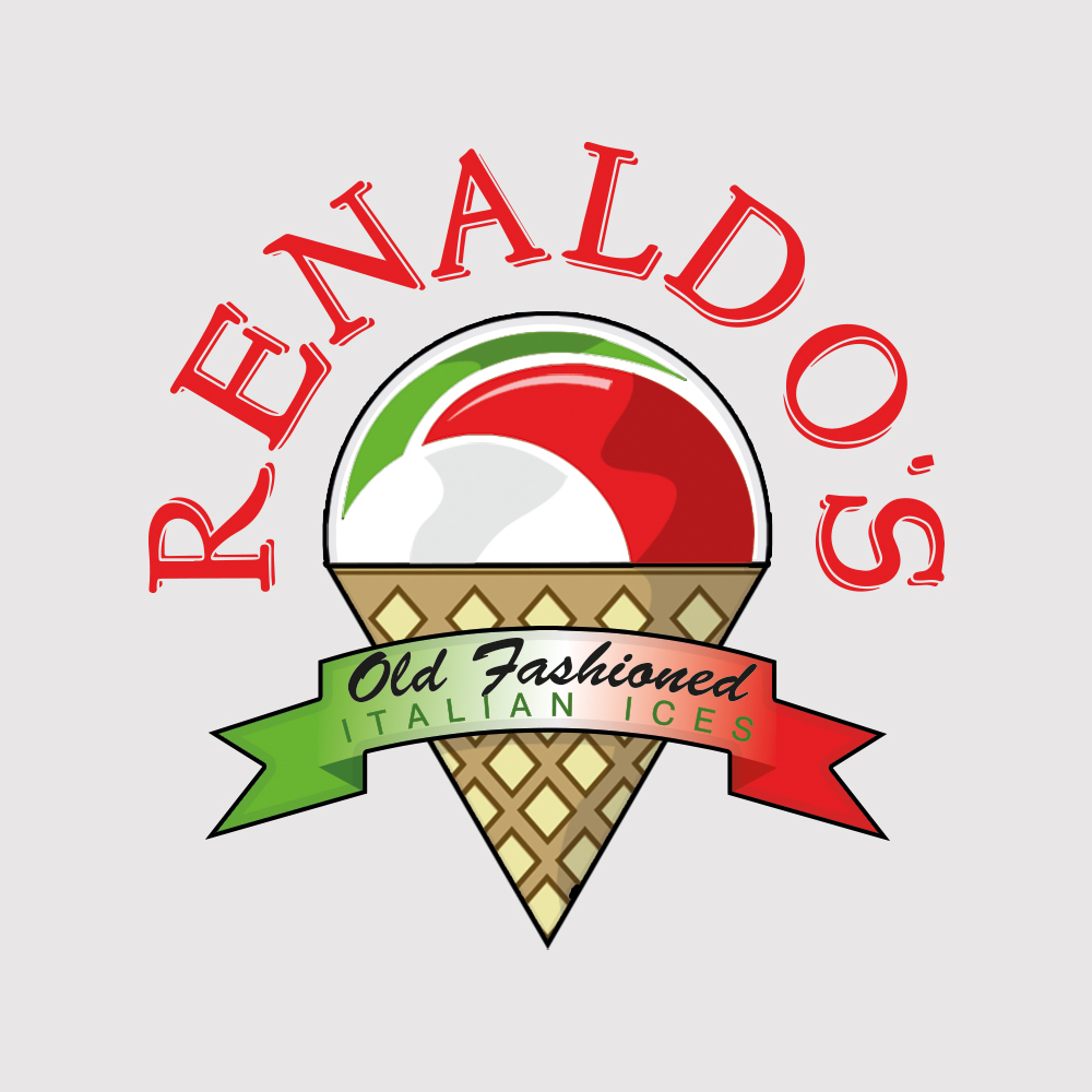 Logo reproduction and Update for Renaldos Ice Cream Parlour in Ayr, Scotland