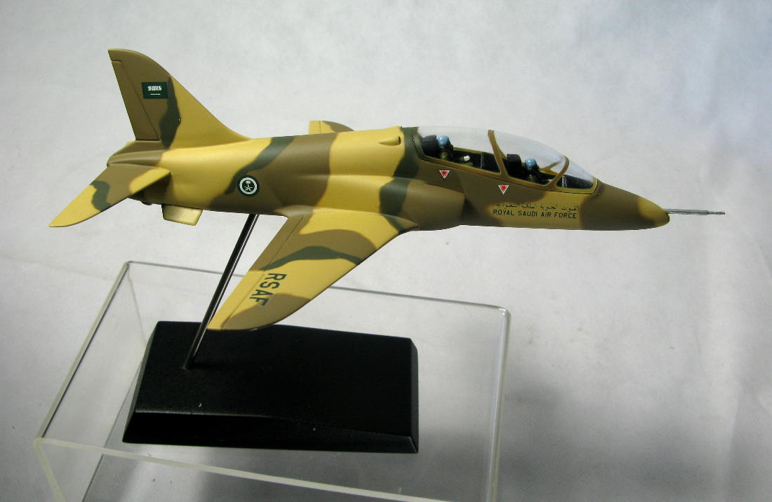 A Very Nice Promo Desk Display Model Of Royal Saudi Air Force Bae Hawk Manufactured By The And Mercial Makers Mastermodels