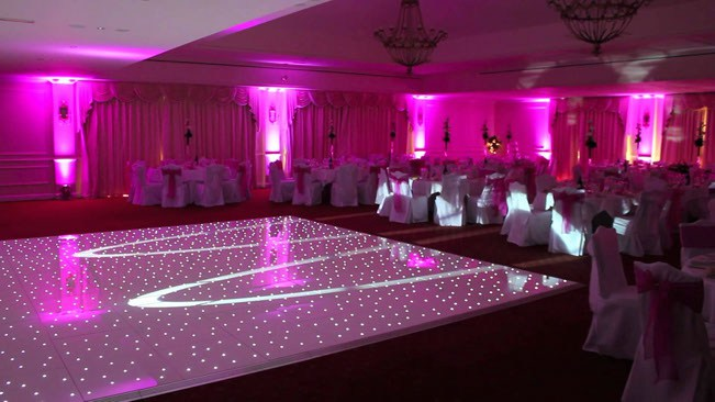 sparkling dance floor