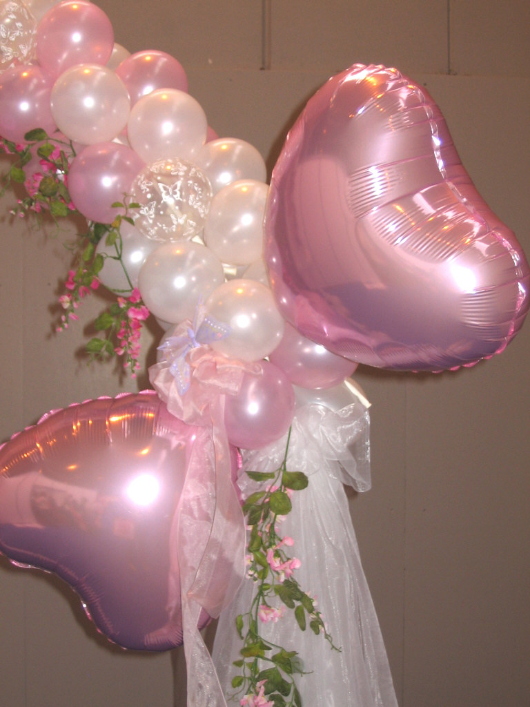 Home page for Arch balloons decoration