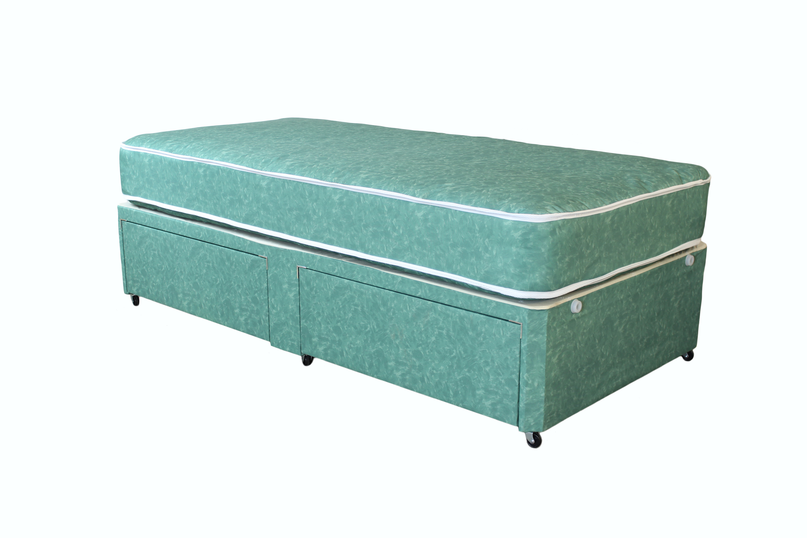 Nursing beds for Single divan bed with storage drawers