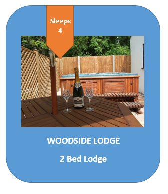Self Catering Lodge with hot tub