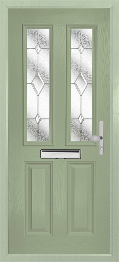 Chartwell Green Door and Frame