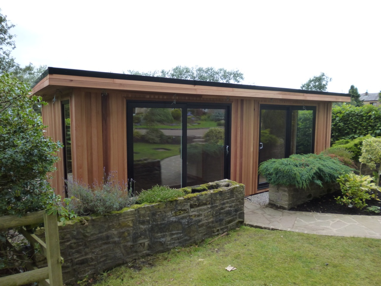 home office garden building. CONTEMPORARY CEDAR HOME OFFICE Home Office Garden Building