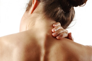 Osteopathy helps relieve neck pain