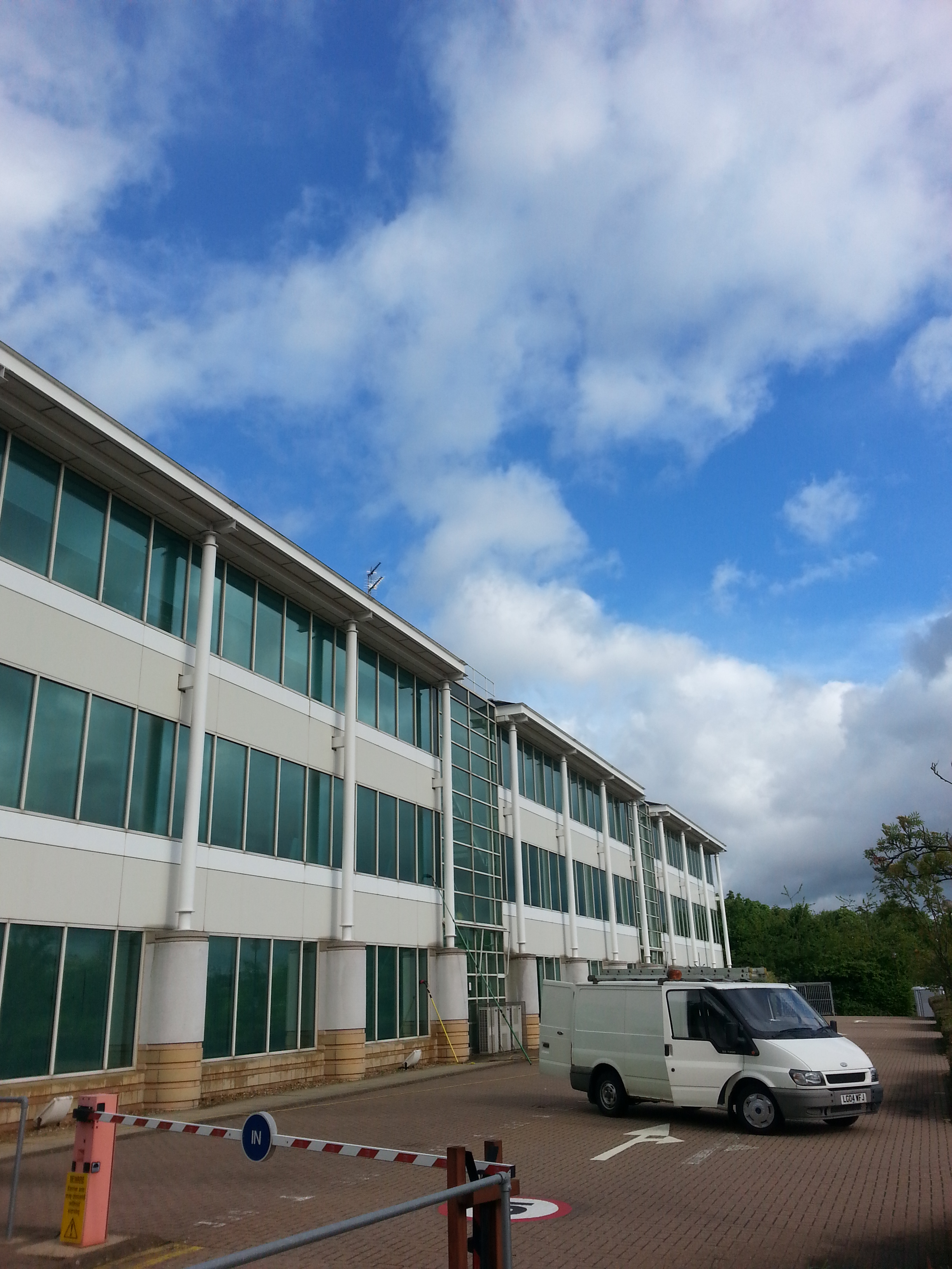 Commercial Window Cleaning Northampton