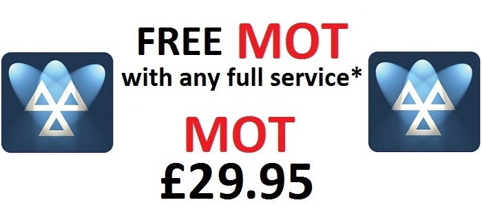 Brake Station - MOT only £29.95 - FREE MOT with any Full Service
