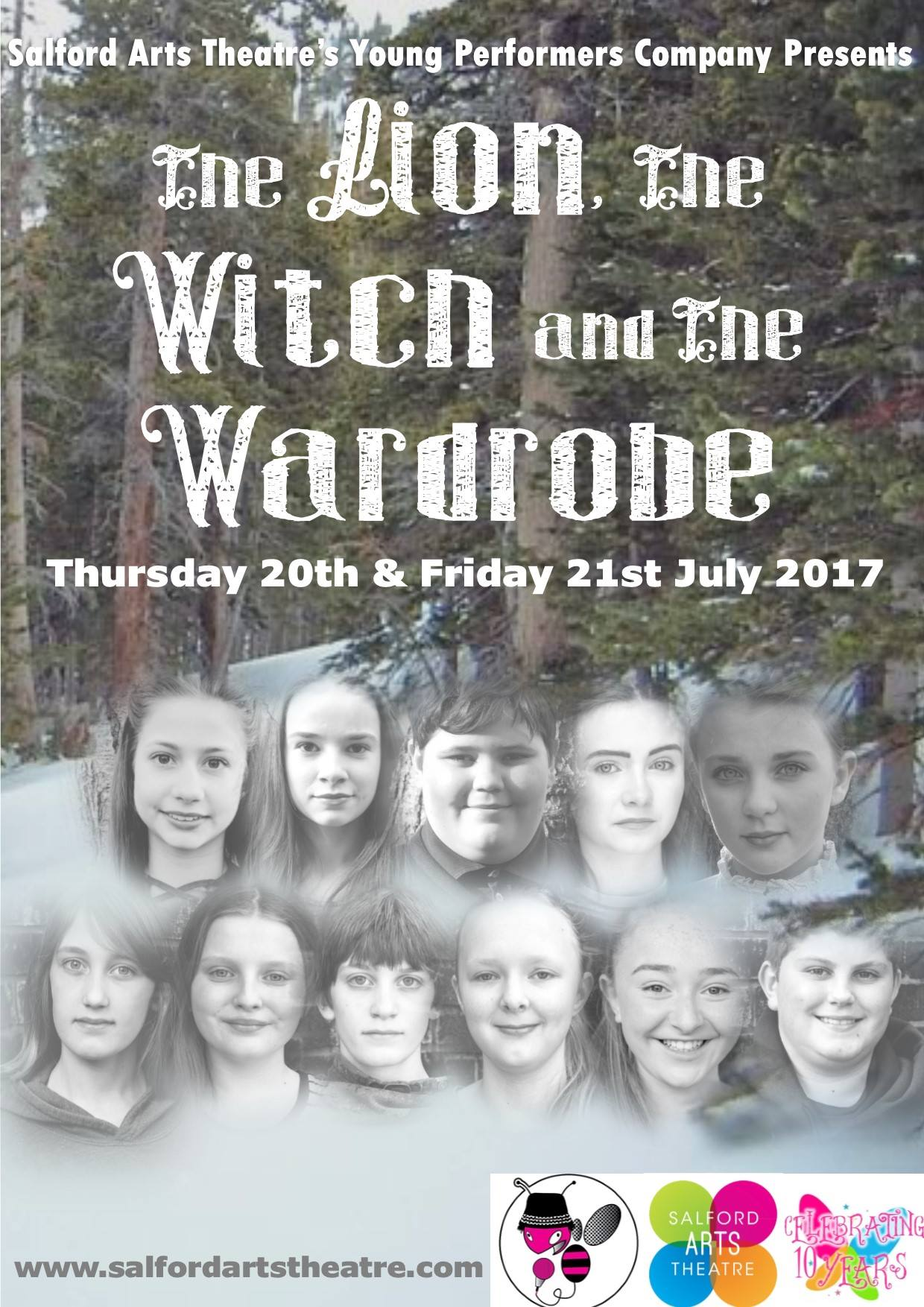 THE LION THE WITCH AND THE WARDROBE | Performed by Salford Arts Theatre's young performers company