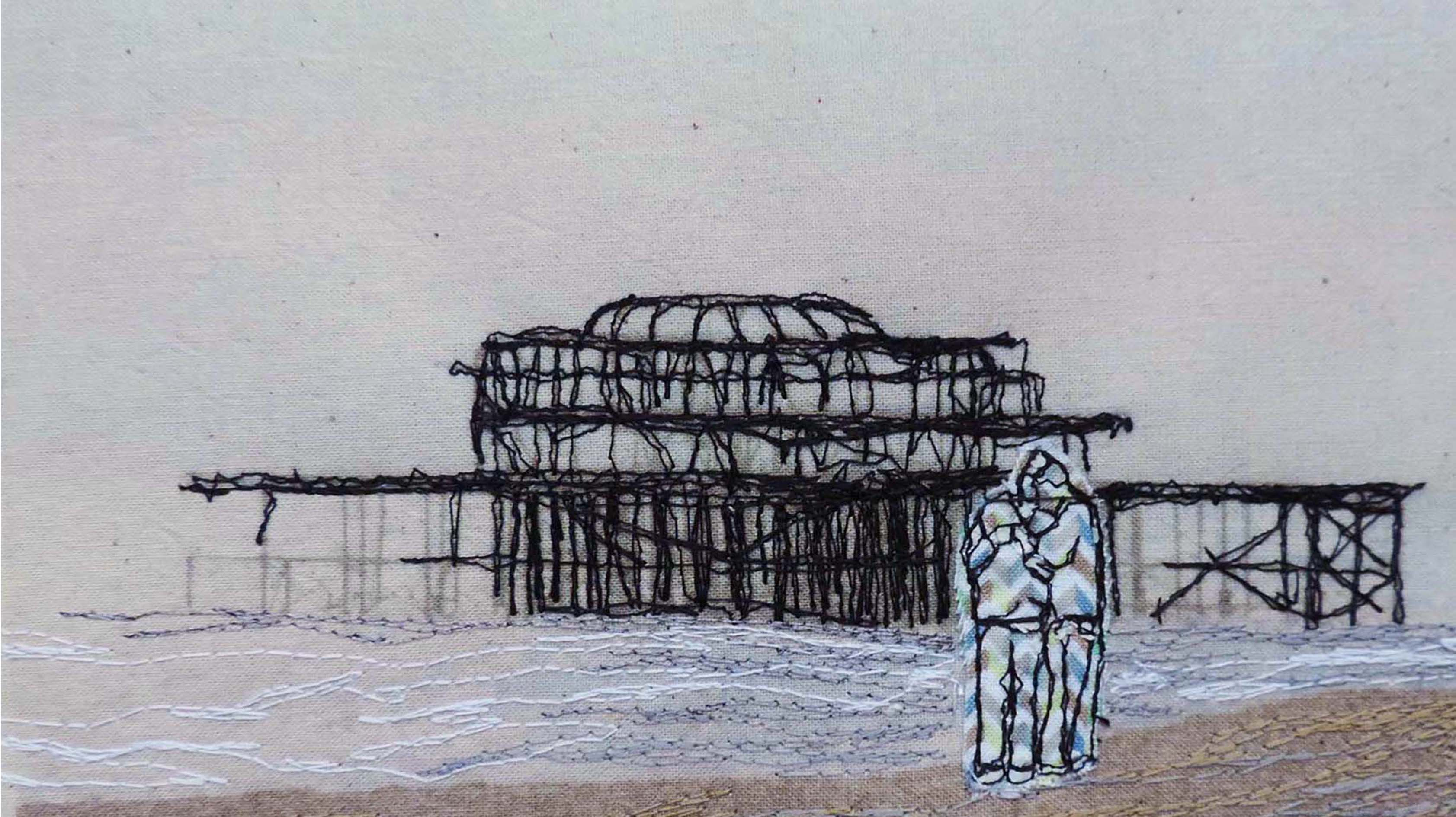 Sharing a moment by West Pier