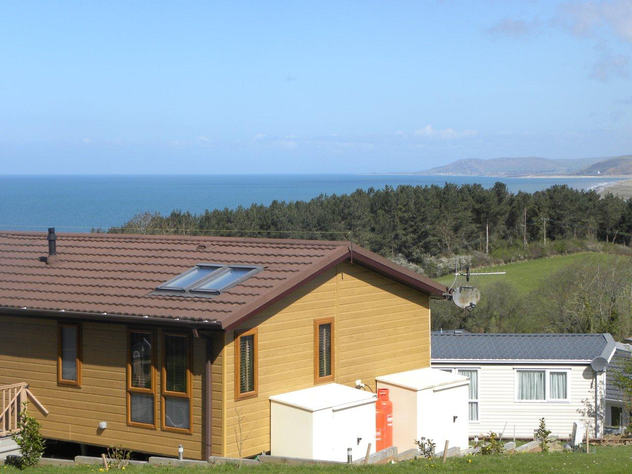 Awesome UK Private Static Caravan Holiday Hire At Clarach Bay Aberystwyth