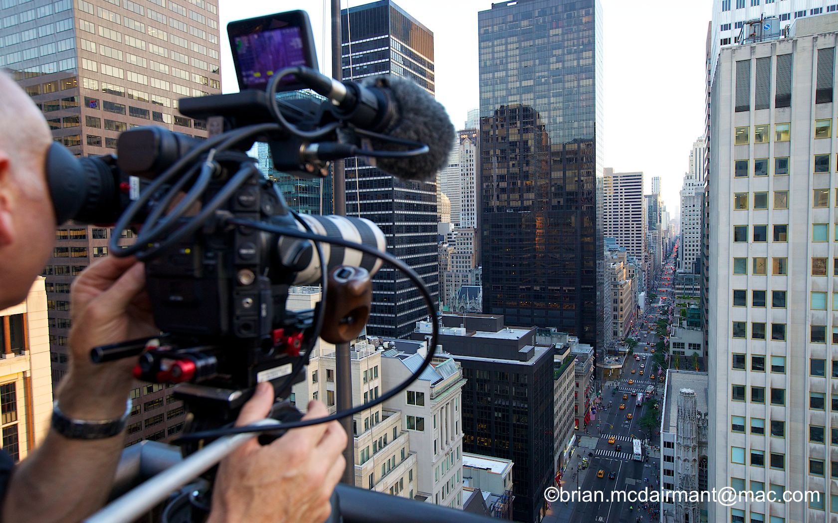 On location in New York