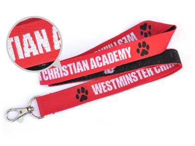 red-woven-lanyard