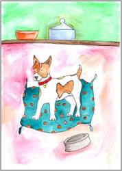 Jack Russel print by Sarah Collins