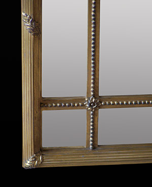 Adam wall mirror bottom corner. Made by Ruth Tappin