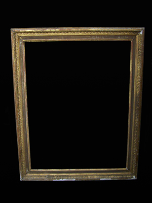picture frame missing top decoration