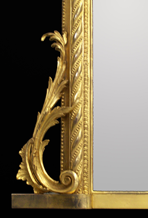 Rococo pier mirror. Made by Ruth Tappin