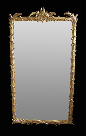 Palm wall mirror. Made by Ruth Tappin
