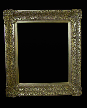 gilt picture frame restored.