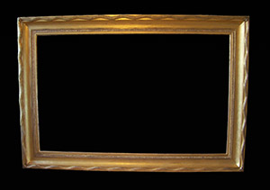 Picture frame. Made by Ruth Tappin