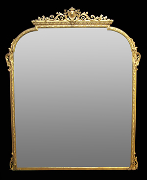 Hardwick over mantle mirror. Made by Ruth Tappin