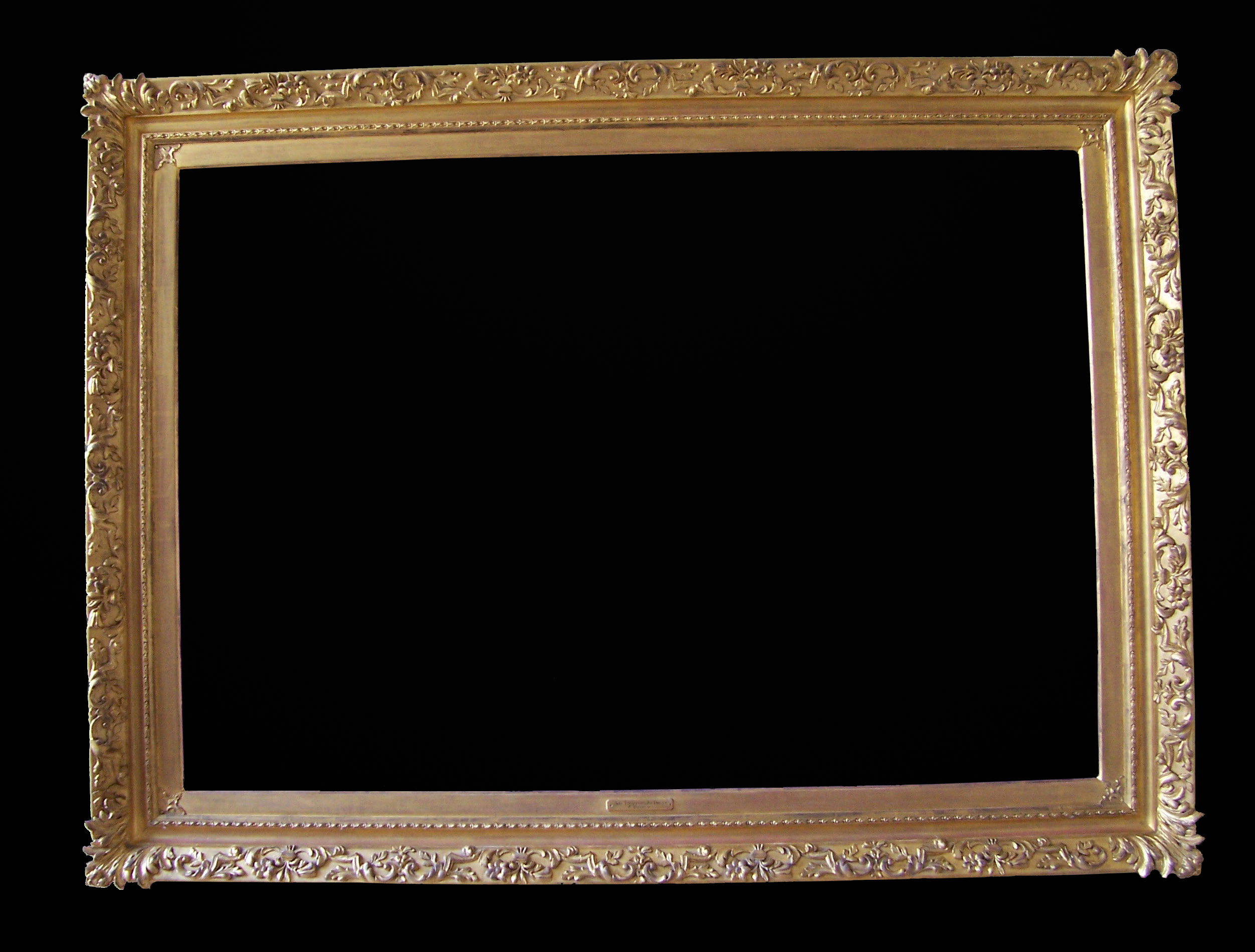 Carden picture frame. Made by Ruth Tappin