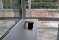 Peticular Pens - Hygienic uPVC Cattery - Acorn Kennels and Cattery Shelf