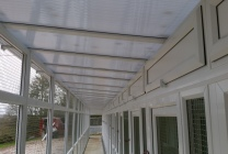 Peticular Pens - Hygienic uPVC Cattery - Acorn Kennels and Cattery Safety Corridor