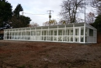 Peticular Pens - Hygienic uPVC Cattery - Acorn Kennels and Cattery Front