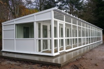 Peticular Pens - Hygienic uPVC Cattery - Acorn Kennels and Cattery Side