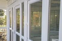 Peticular Pens - Bespoke uPVC Cattery - Bundle Bengals - Safety Corridor