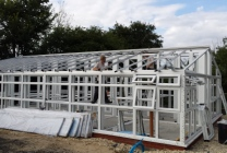 Peticular Pens - Hygienic uPVC Cattery - Clay Hill Cattery - Build