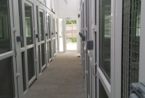 Peticular Pens - Hygienic uPVC Cattery - Clay Hill Cattery - Safety Corridor