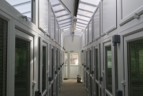Peticular Pens - Bespoke uPVC Cattery - Clay Hill Cattery - Safety Corridor