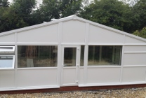 Peticular Pens - Hygienic uPVC Cattery - Clay Hill Cattery - Front