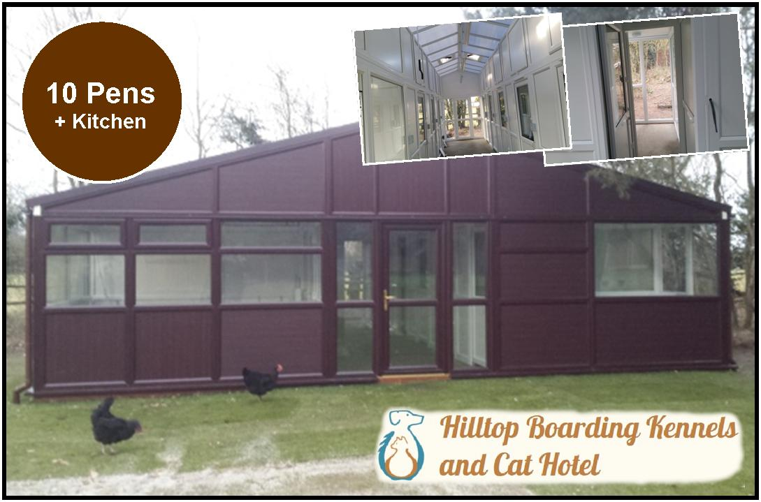 Peticular Pens - Bespoke uPVC Cattery -  Hilltop Boarding Kennels and Cat Hotel