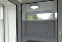 Peticular Pens - Hygienic uPVC Cattery - Hedgerows Cattery & Small Pet Hotel Sleeping Area
