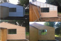 Peticular Pens - Hygienic uPVC Cattery - Hedgerows Cattery & Small Pet Hotel Build