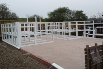 Peticular Pens - Hygienic uPVC Cattery - RSPCA Leeds & Wakefield Rescue - Build