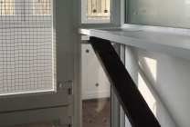 Peticular Pens - Hygienic uPVC Cattery - RSPCA Leeds & Wakefield Isolation - Shelf