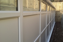 Peticular Pens - Hygienic uPVC Cattery - RSPCA Leeds & Wakefield Isolation - Rear View