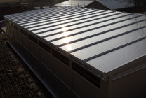 Peticular Pens - Hygienic uPVC Cattery - RSPCA Leeds & Wakefield Isolation - Roof