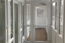 Peticular Pens - Bespoke uPVC Cattery - RSPCA Leeds & Wakefield Isolation - Safety Corridor