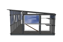 Peticular Pens - Hygienic uPVC Cattery - RSPCA Leeds & Wakefield Isolation - Design