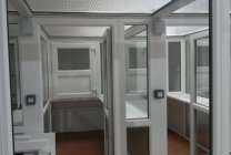 Peticular Pens - Hygienic uPVC Cattery - Lords Hill Cattery Build - Pen