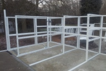 Peticular Pens - Hygienic uPVC Cattery - RSPCA Martlesham - Build