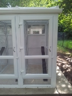 Peticular Pens UPVc Ferret Shelter - Outside Run