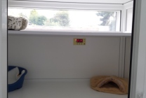 Peticular Pens - Hygienic uPVC Cattery - Cats @ Ratcliffe Luxury Cat Hotel - Sleeping Area